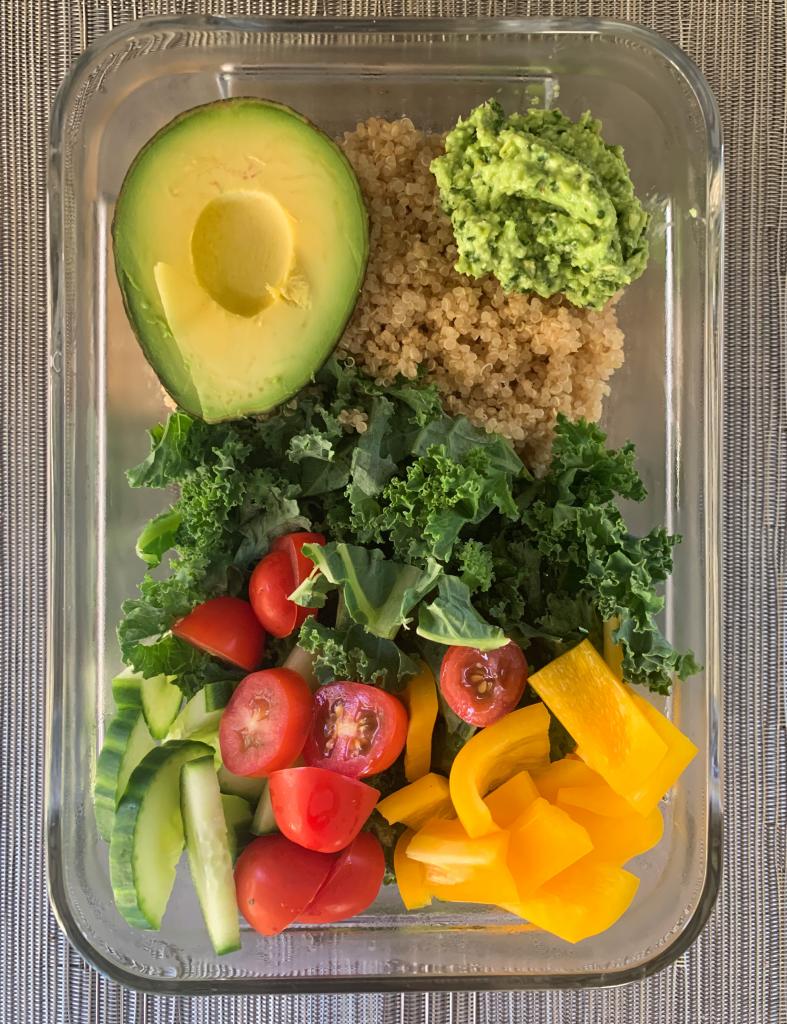 Kale and Quinoa Bowls