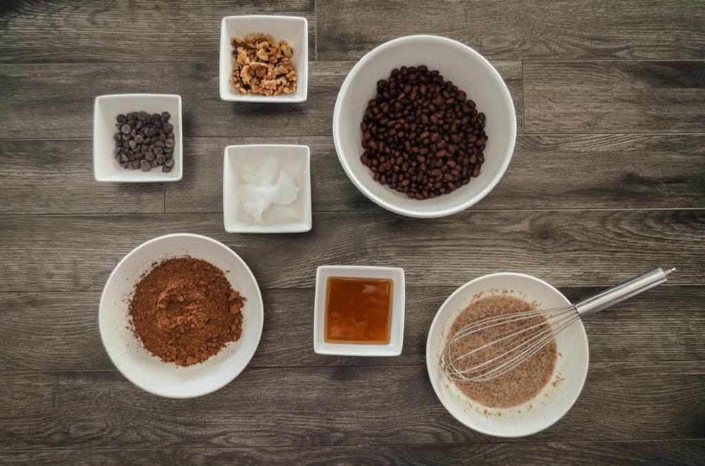 Fudgy Black Bean Brownie Ingredients