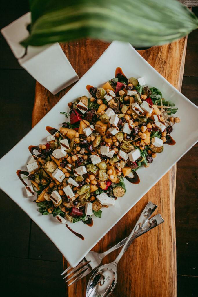 Roasted Vegetable Salad 1