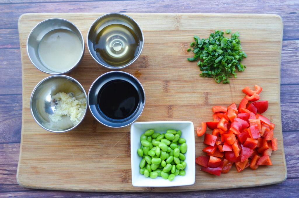 Sesame Soba Noodle Veggie Salad
